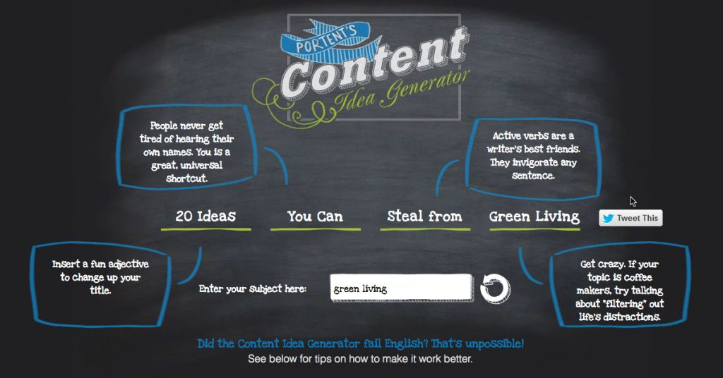 6 Awesome Content & Headline Generators