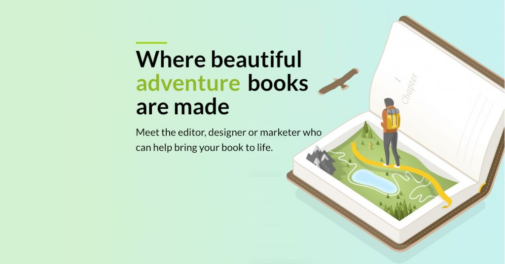 Meet the editor, designer or marketer who can help bring your book to life.