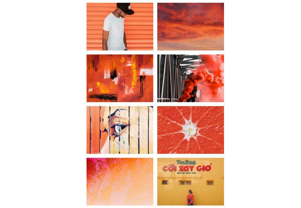 It's PANTONE 16-1546 color of the year An animating and life-affirming coral hue with a golden undertone that energizes and enlivens with a softer edge