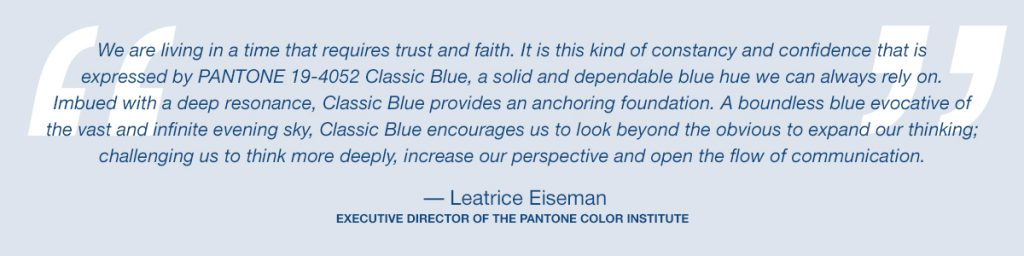 Pantone's Color of the Year for 2020 is... 1